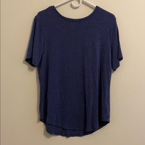 Old Navy Luxe Short Sleeve T-shirt L